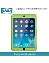 Ahha Arias Magic Flip Case for Apple iPad Mini Retina Display - Green (A-FPAPIDMR-MA06)