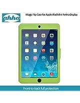 Ahha Arias Magic Flip Case for Apple iPad Mini Retina Display - Green (A-FPAPIDMR-MA06)