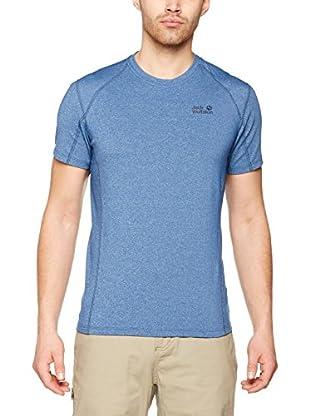 Jack Wolfskin T-Shirt Silver Sky