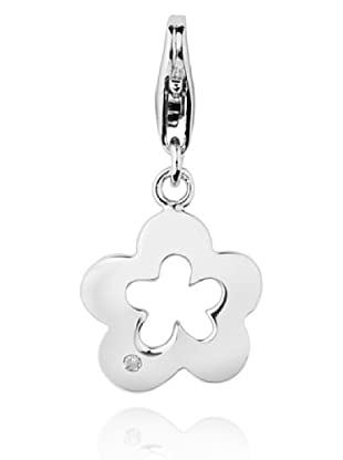 Secret Diamonds Charm Flor Plata 925 Diamante