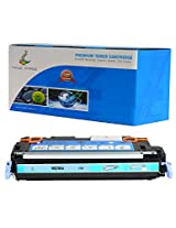 TRUE IMAGE HEQ7581A-C503A Compatible Toner Cartridge Replacement for HP Q7581A (Cyan)