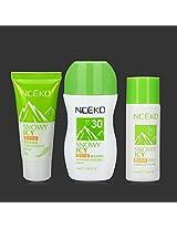 Isolate UV Essence Icy Toner Repair Emulsion Sunscreen Cream Set