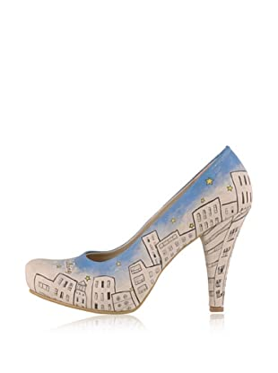 Dogo High Heel Keep On Walking (Creme)