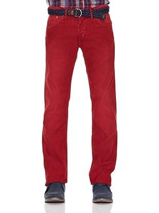 Pepe Jeans London Pantalón Hoxton (Rojo)