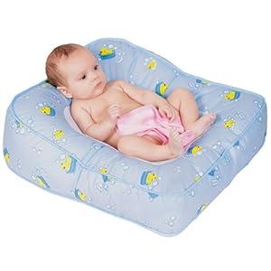 Leachco 13956 Flipper 2-Way Baby Bather-Blue