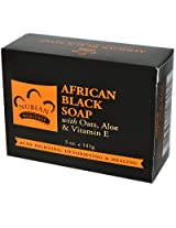 Bar Soap African Black w/ Oats 5 oz From Nubian Heritage