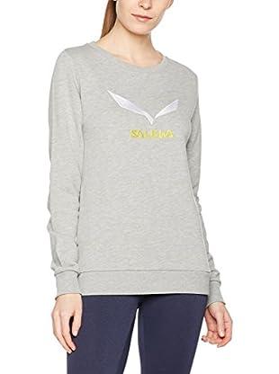 Salewa Camisa Mujer Solidlogo 2 Co W Swtsrt
