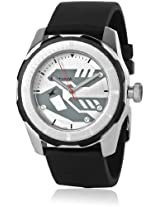 3099Sp01-Dc617 Black/White Analog Watch Fastrack