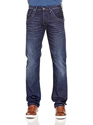 Pepe Jeans London Vaquero Tooting (Azul Oscuro)