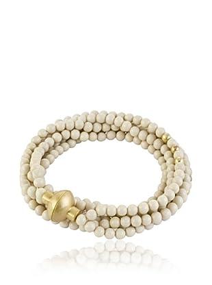 Sence Copenhagen Armband Snake Ivory 54 cm
