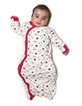 Nino Bambino Organic Cotton Baby Night Gown (Nb-Ss14-Bu013A1 -Multicolor)