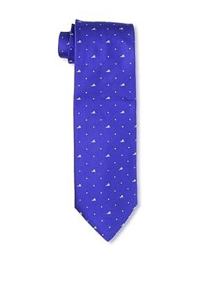 Moschino Men's Mini Block Tie, Navy