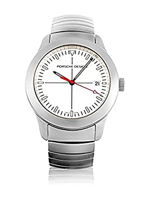 Porsche Quarzuhr Man 6601.41 White 39 mm
