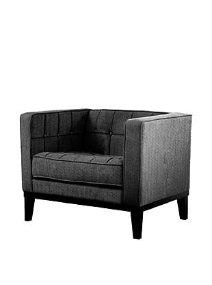 Armen Living Roxbury Chair, Charcoal