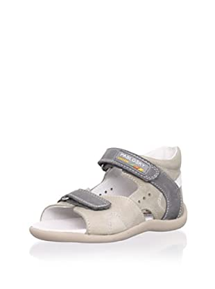 Pablosky Kid's Leather Sandal (Beige)