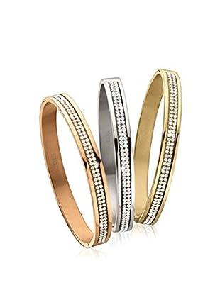 Dyrberg/Kern Armband Tf Lorbel Tri Set - Ss+Sg+Rg stahl/goldfarben