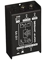 Seismic Audio - Passive Direct Box w/ Ground Left and Attenuator Switch DI Box