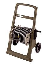 Suncast SHA150B 150-Foot Capacity Garden Hose Hosemobile Reel Cart, Mocha/Taupe