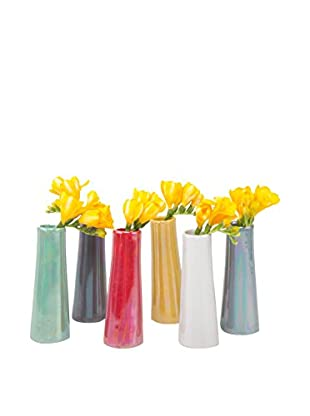 Chive Set of 6 Galaxy Vases, Multi