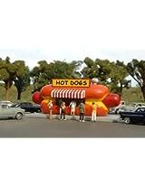 Bachmann Industries Hotdog Stand HO Scale Train
