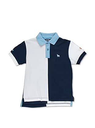 Toro Polo Junior Bicolor (Azul Marino / Blanco)