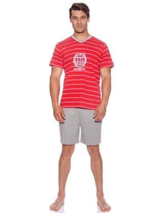 Basket Pijama Cro.CPico Estampado (Rojo)