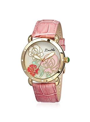 Bertha Women's BR1505 Josephine Pink/Multi Leather Watch