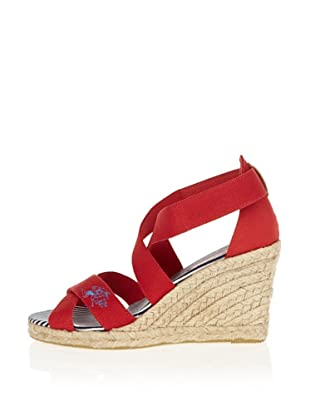 US Polo Assn Wedges Destiny (Rot)