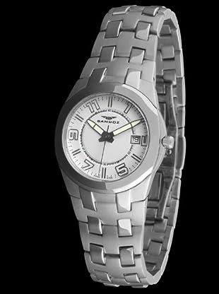 Sandoz 71568-00 - Reloj Col. Diver Acero Sumergible plata / blanco