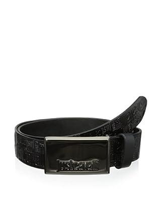 Just Cavalli Men's Logo Belt (Black)