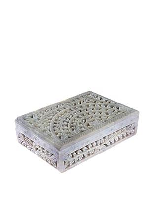 Mela Artisans Taj Gorara Stone Decorative Box