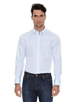 Versace Camisa Básica (Azul)
