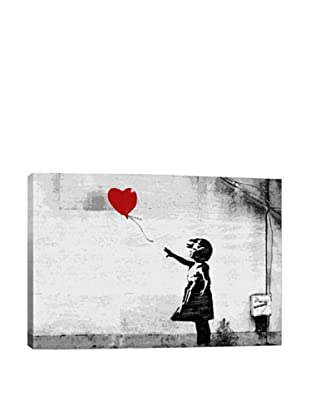 Banksy Girl With A Balloon Giclée On Canvas