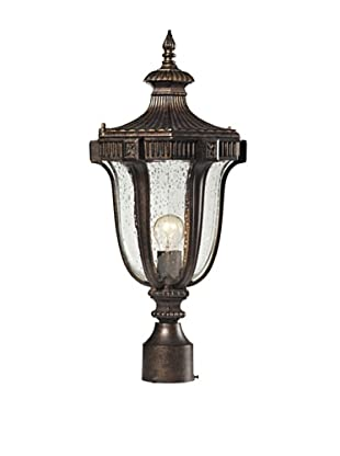 Artistic Lighting Sturgess Castle Outdoor Post-Mount Light, Regal Bronze