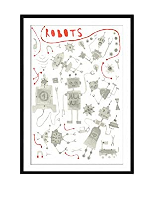 Surdic Gemälde Robots