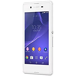 Sony Xperia E3 (Single SIM, White)