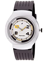 Fastrack Economy 2 Analog White Dial Men's Watch - NE748PP02