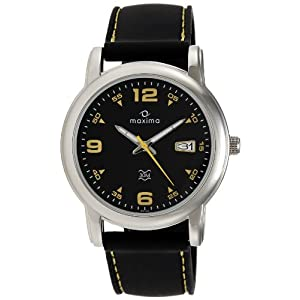 Maxima Attivo Analog Black Dial Men's Watch - 25723PMGI
