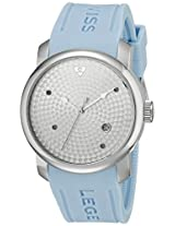 Swiss Legend Men's 20028-02S-BBL Planetimer Silver Textured Dial Watch