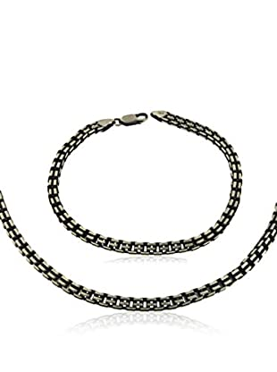 Tuscany Silver Set Collier und Armband Sterling-Silber 925