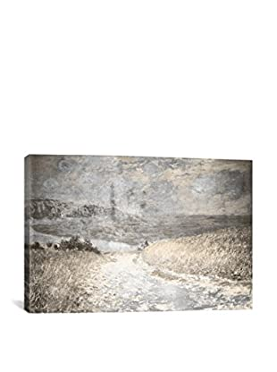 Path Through The Corn IV Gallery Wrapped Canvas Print