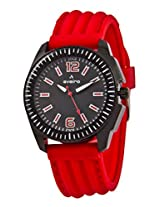 Aveiro Fashion Analog Black Men's Watch (AV49BLKRED)