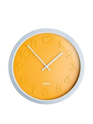 Enjoy Home  Wanduhr Color Time gelb
