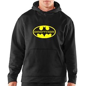 Giftsmate TS0182 Batman Brother Sweatshirt - Black
