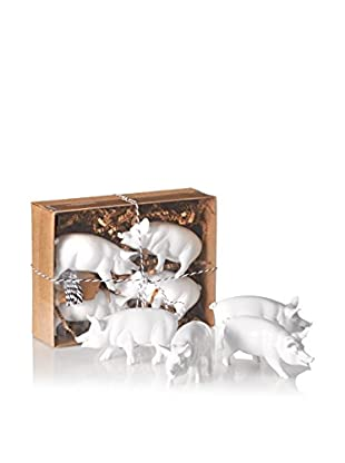 ACME Party Box Set of 8 Pig Placecards