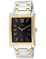 Titan Analog Black Dial Men's Watch - 9327BM02