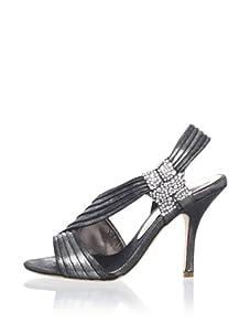 Bourne Women's Connie Slingback Sandal (Pewter Metallic)