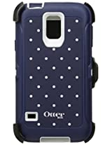 Otterbox Defender Series for Samsung Galaxy S5 with Holster/Screen Protector/Retail Packaging - (Slate Grey/Classic Dot)