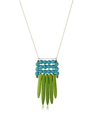 David Aubrey Rissa Turquoise Pendant Necklace