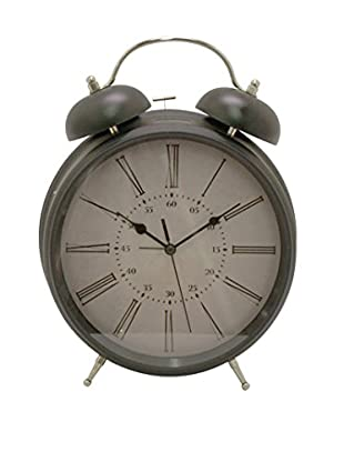 Three Hands Metal Alarm Clock